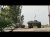 BATTLE FOOTAGE Militias Fired At The Airport. Donetsk