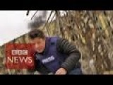 BBC Ian Pannell Claims Artillery Is 'outgoing' And Is Nearly Killed By Incoming Artillery