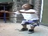 Baby Rapper Cursing And Dropping N Bombs