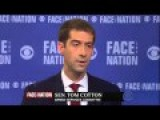 Bob Schieffer To Sen. Cotton: Do You Plan On Writing North Korea Next?