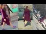 Bare Legged Woman In Kabul Shocks World