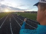 Beer Mile World Record Attempt