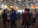 Brawl At LA Fitness - Roseville, MN