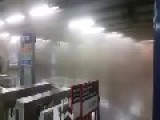 Bomb Explodes In The Santiago Subway, Chile