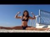 Bianca Bree Van Damme Ice Challenge