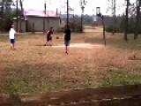 Basketball Dunker Falls