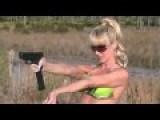 Blondie Firing Glocks