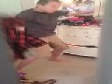 Boy Caught Dancing To Britney Spears, Ohh La La