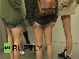Berliners Drop Their Pants On The Subway