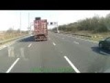 BMW Gets Pited By A Lorry