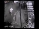 Bungling Arsonist Attempts To Set Swansea Nightclub Ablaze CCTV