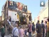 Barcelona: Police And Protesters Clash Over Forced Squatter Evictions