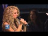 Blonde Sings At The UN To Promote Peace And Humanity
