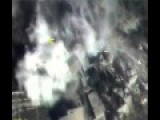 Basement Ammo Supply Detonation After Airstrike