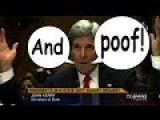 BBC Misreports John Kerry On Talks Failure