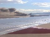 British Airways Boeing 777 Catches Fire On Las Vegas Runway