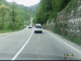BMW Close Call - Wrong Overtaking!