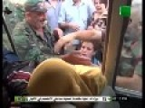 BUS FULL OF FOREIGN Terrorists Take A Beating From Syrian Civilians