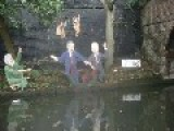Bush Blair & Sadam Lurking Down The Canal