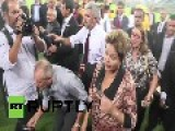 Brazil: Rousseff Signs Off On First New World Cup Stadium