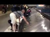 Blind Dude Finds His Bag In Airport, Kudos