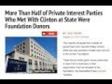Bribery Gone Wild @ Clinton State Dept