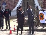 Black Panthers Protest In Texas With Guns