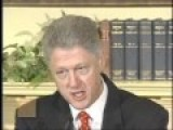 Bill Clinton-- I Did Not Have Sexual Relations With That Woman