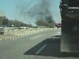 Big Car Fire!