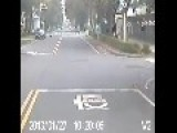 Brutal Hit And Run By Taxi In Taiwan