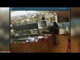 Burglar Flees Store Empty Handed After Owner Ignores Him