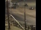 Bryan Clauson Hard USAC Crash At Belleville