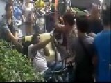 Black Guy Surrounded And Beaten By Many Chinese