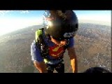 BASE Jump From Hot Air Balloon