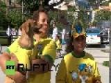 Brazil: Meet Brazil's Cutest Canine Footy Fans