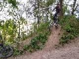 Biker Goes Flying Over Handlebars