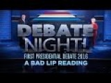 Bad Lip Reading, First Presidential Debate...!!!