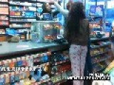 BLACK CHICK Fights BLACK Store Clerk For Messing With 2abc Her Man