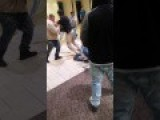 Big Black Friday Shopping Mall Brawl