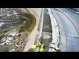 Biking A Handrail On A 650 Ft Tall Dam