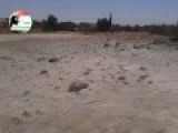 Bashar Al-Assad's Alawite Army Uses Explosive Barrels On The Sunni Arab Town Of Anah, Anbar
