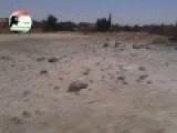 Bashar Al-Assad's Alawite Army Uses Explosive Barrels On The Sunni Arab Town Of Anah, Anbar