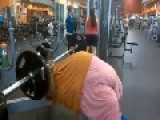 Big Guy Doing Weights..! Part 1