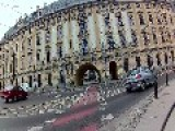 Biker Takes Down Purse Thief