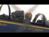 BLUE ANGEL F A-18 Engines Start, Taxi And Take Off Close Up
