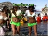 Bikini Women At Polar Bear Plunge