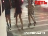 Black Girl Fight After The Club **WARNING** 18+ Ghetto Butt Crack