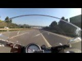 BMW S1000RR Vs SUZUKI Hayabusa - Top Speed