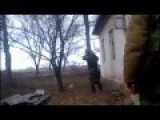 BATTLE FOOTAGE Attempted Attack On Donetsk Airport