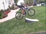 Bike Jump Faceplant